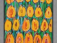 Pomarańczowe tulipany 40x30 Edward Dwurnik